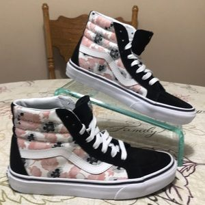 Mint! Vans High Top Skateboarding Shoes 7.5